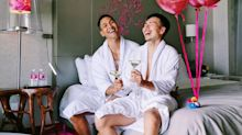 Love drowns out the hate after Singapore hotel features gay couple