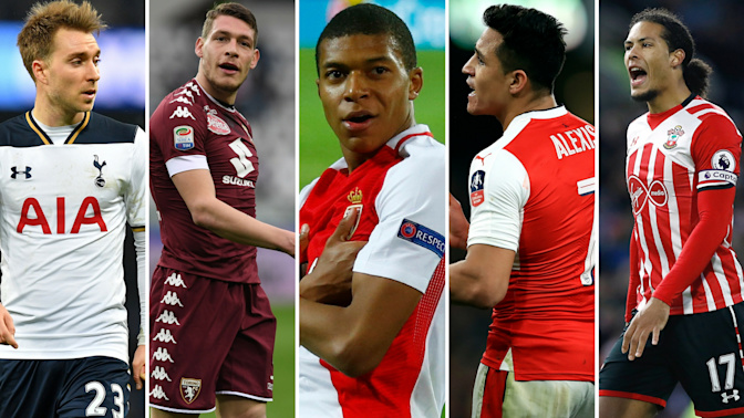 Gossip: Man City set for £250m spree, United linked with Belotti, Barcelona target Spurs star