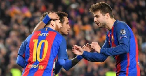 Foot - WTF - Messi et Neymar se moquent (gentiment) de Piqué