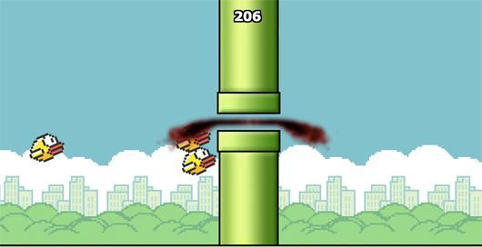 Take out your Flappy Bird frustration with Squishy Bird