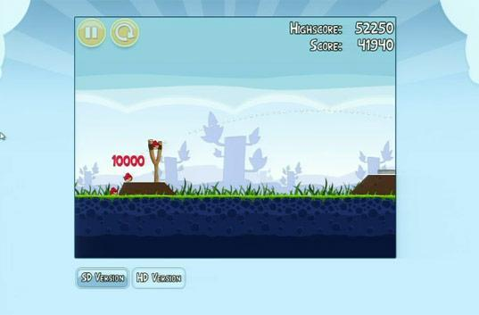 Angry Birds gets a web version, coming to Chrome Web Store
