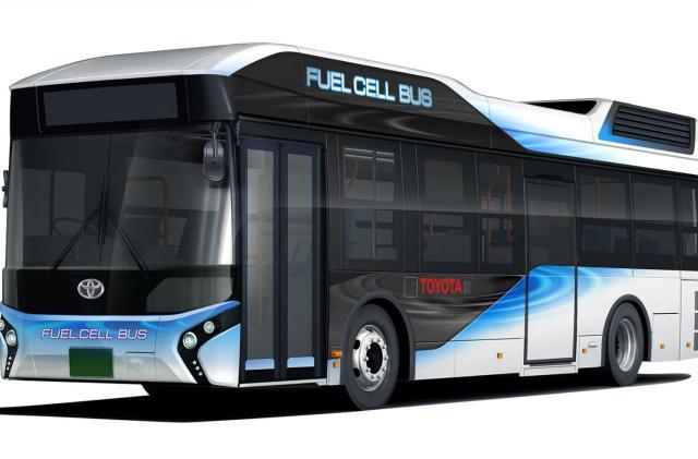 Toyota's hydrogen buses can work as emergency generators