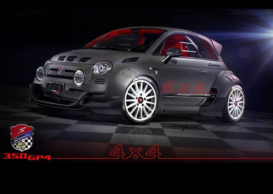 義大利超級小怪獸!Giannini 350 GP4的四驅戰鬥魂!