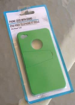 Dollar Store Accessories: Flip stand case