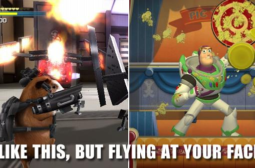 Toy Story Mania & G-Force games to include 3-D glasses at retail
