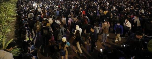 2千人愛丁堡廣場集會