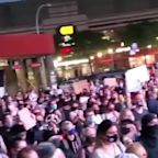 New York protesters 'say her name' after no criminal charges in Breonna Taylor death