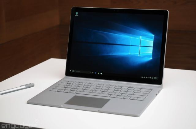 Surface Book vs. the competition: Flagship laptops go head-to-head