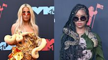 Two women wore real-life snakes at the MTV VMAs