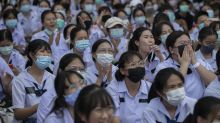 Thai students seeking reforms debate education minister