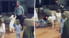 Chris Hemsworth's impersonation of Miley Cyrus goes hilariously wrong