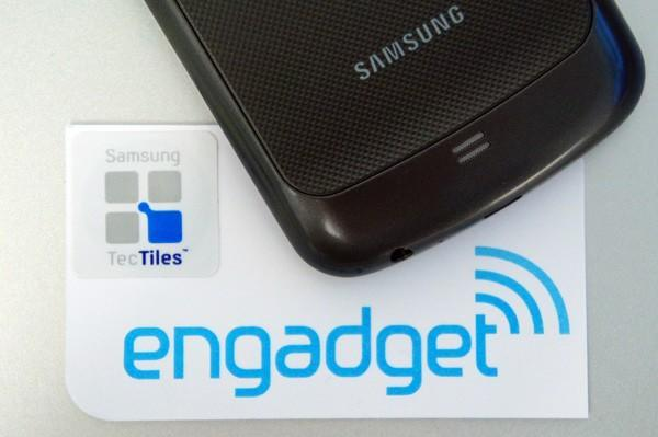 TecTiles: programmable NFC stickers for select members of Samsung's Galaxy