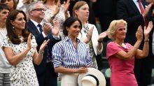 Herzogin Meghan: Aus diesem Grund durfte sie in Wimbledon keinen Hut tragen