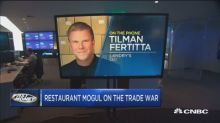 Restaurant mogul gives his take on the trade war