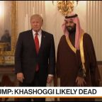 Trump Warns Saudis of Severe Consequences on Khashoggi