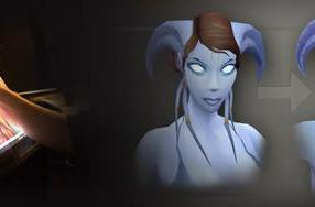 Blizz shows off WoW's actual female Draenei revamp
