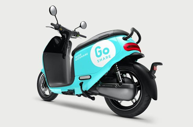 Gogoro brings its on-demand electric scooter rentals to Taiwan