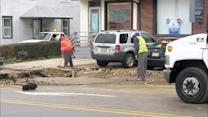 Water main break interrupts service in Montgomery County, Pa.