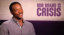 'Our Brand Is Crisis' Star Anthony Mackie Calls Kanye West 'President of the American Dream'