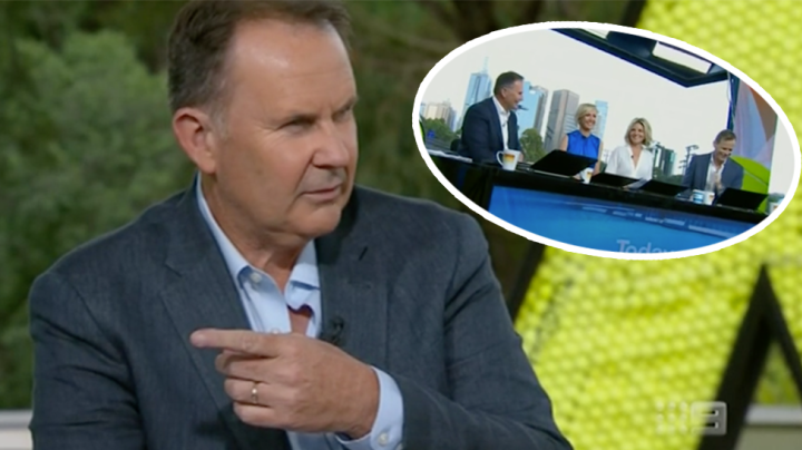 Today show presenter caught out on live TV