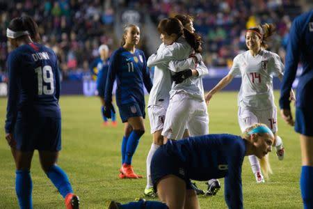 aad888fa2f2 Soccer: She Believes Cup Women's Soccer-Japan ...