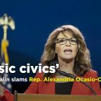 Sarah Palin slams Alexandria Ocasio-Cortez, and her defenders go right back for Palin