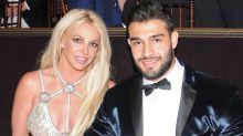 Britney Spears Cuddles Up to Her Boyfriend in Sweet Beach Snaps