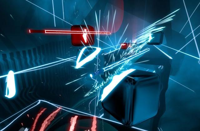 'Beat Saber' now has an official song designed to keep you fit