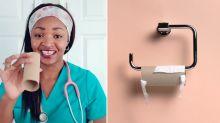 Doctor reveals genius toilet roll hack to keep children safe