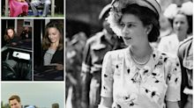 Rare birthday photos of the British Royal Family