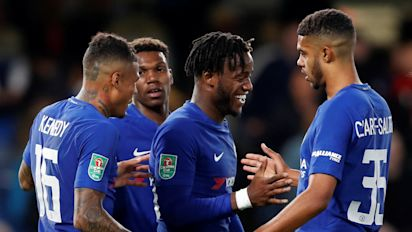 League Cup: Big boys through as Chelsea hit 5