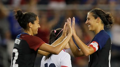 U.S. women complete preparation for Rio Olympics with resounding win
