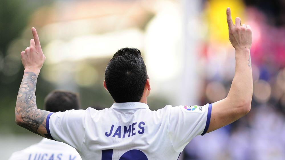 Medien: James kann Real Madrid im Sommer verlassen