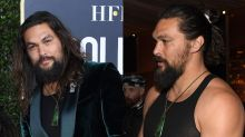 Jason Momoa wears a tank top to the Golden Globes — and nobody's complaining