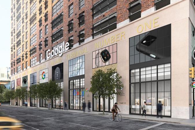 Google retail store in New York City