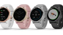 Introducing Garmin® vívoactive® 4 and 4S GPS smartwatches with enhanced health monitoring and new animated on-screen workouts.