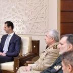 Iranian general, Assad discuss joint military strategy: report