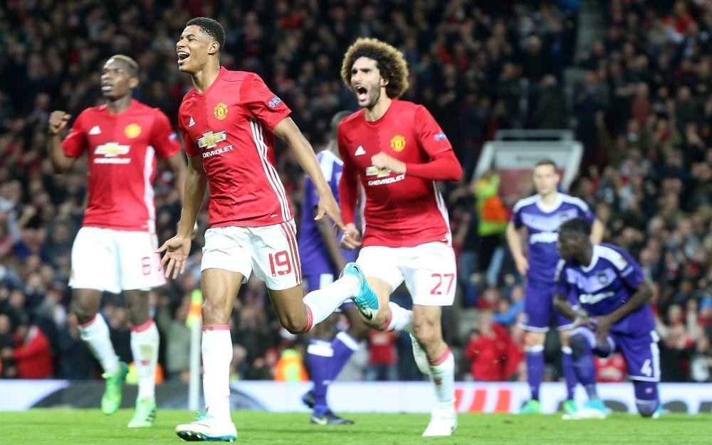 Marcus Rashford scored United's winner in extra time - Manchester United