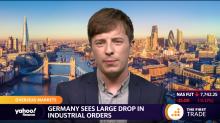 Germany sees large drop in industrial orders