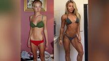 Pasa de ser anoréxica y pesar 26 kilos a convertirse en campeona mundial de fitness