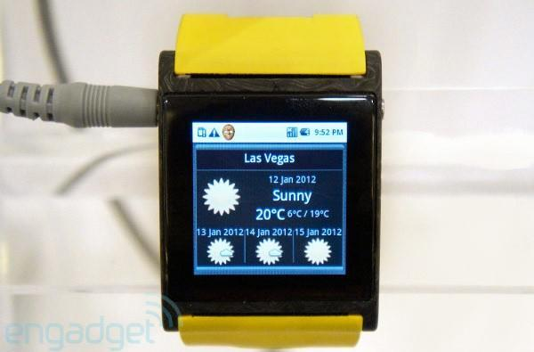 I'm Watch brings old Android, new form factor to your wrist (video)