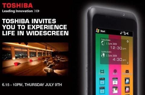 Toshiba's TG01 stepping out in London on July 9th