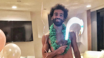 Mohamed Salah dresses up as a Disney character for his daughter's birthday