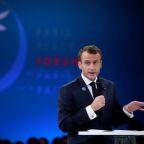 Macron and tech giants launch 'Paris call' to fix internet ills