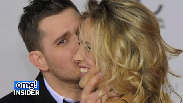 Michael Buble and Wife Post Musical Sonogram to Share Baby News