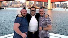 First Openly Gay Pro Strongman Rob Kearney Marries Longtime Boyfriend