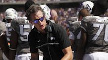 Kansas hires Doug Meacham from TCU as offensive coordinator