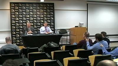Andy Garman Wraps Up Tuesday's Press Conference