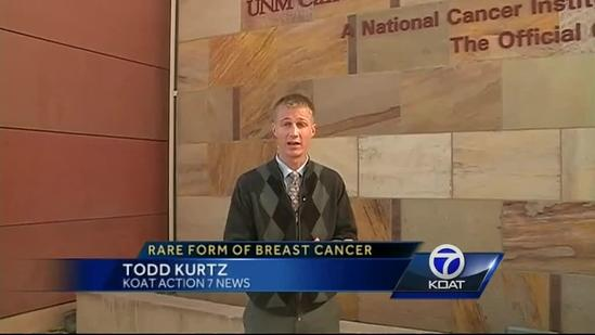 Different kind of breast cancer striking more women under 40
