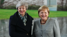 Angela Merkel says EU WILL approve PM's short Brexit delay - but only if her deal is passed